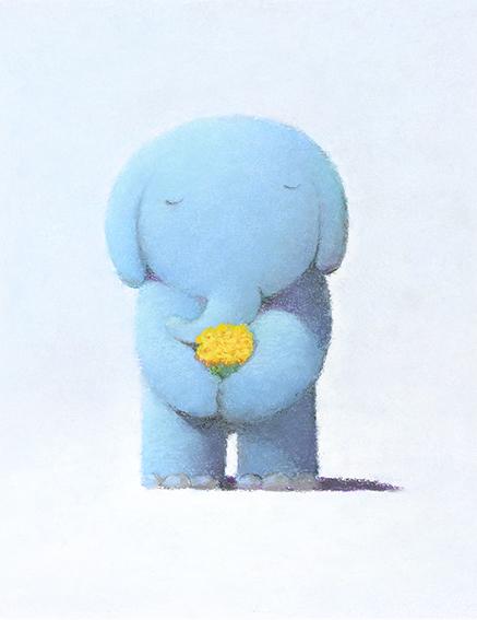 黄色の花束